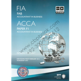 Acca paper f1 accountant in business study text