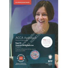 ACCA F4 Corporate and Busniess Law kit bpp 14