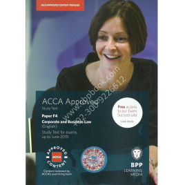 ACCA F4 Corporate and Busniess Law text bpp