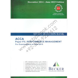 ACCA F5 Study Question Bank Becker 2014-15