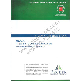 ACCA P3 Study Question Bank Becker 2014-15