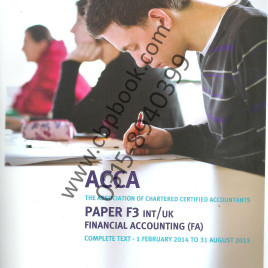 ACCA F3 Financial Accounting Study Text 2014-2015 Kaplan