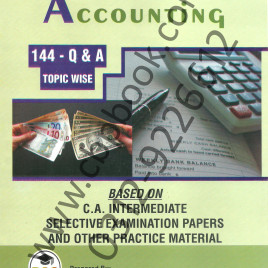 Financial Accounting 144 Q. & A. Topic Wise Pac