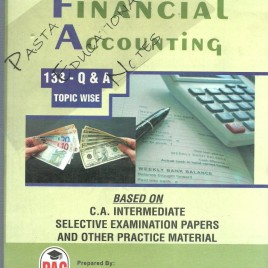 Financial Accounting 133 Q. & A. Topic Wise Pac