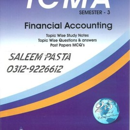 ICMA Semester-3 Financial Accounting Waheed
