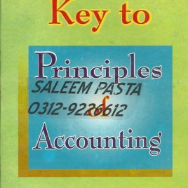 Key to Principles of Accounting M.A. Ghani