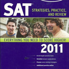 SAT Strategies, Practice & Review 2011 Kaplan