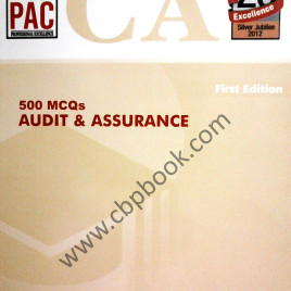 CA 500 MCQs Audit & Assurance 1st Edition PAC