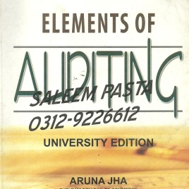 Elements of Auditing Aruna Jha