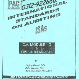 International Standards On Auditing PAC
