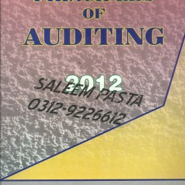 Principles of Auditing Khawaja Amjad Saeed 2012