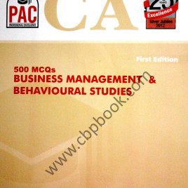 500 MCQs Business Management & Behavioural Studies PAC