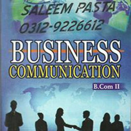 Business Communication B.Com II Iqra