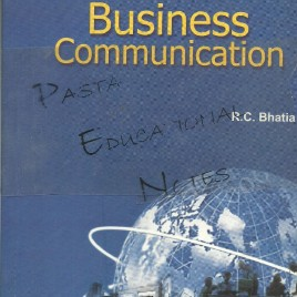 Business Communication R.C. Bhatia