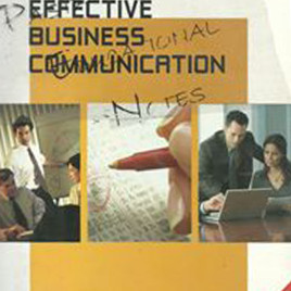 Effective Business Communication CENGAGE