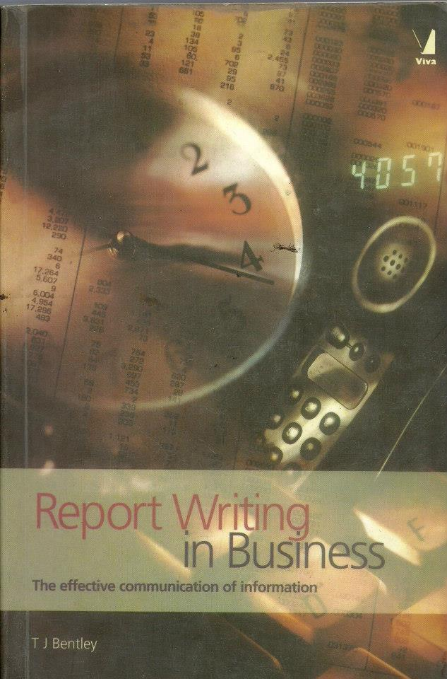 business communication and report writing books