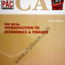 CA 500 MCQs Introduction to Economics & Finance