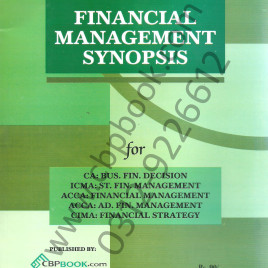Financial Management Synopsis CBPBOOK