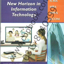 New Horizon in Information Technology Jamshed Ali Khatak