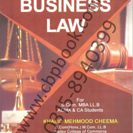 Business Law 2013 Edition Khalid Mehmood Cheema