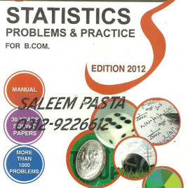 Statistics Problems & Practice for B.Com. Shahid Jamal