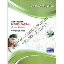 Cost Accounting B.Com II Base Publication