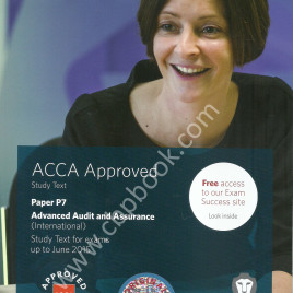 ACCA Paper P7 Advanced Audit & Assurance text bpp
