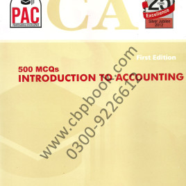 CA 500 MCQs Introduction to Accounting PAC
