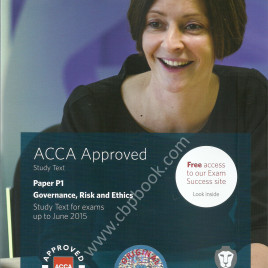 ACCA P1 Governance, Risk & Ethics text bpp