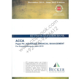 ACCA P4 Revision Question Bank 2014-15 Becker