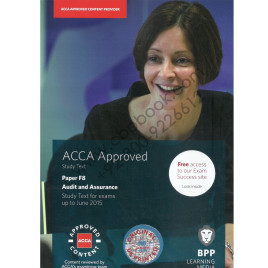 ACCA F8 Audit and Assurance Study Text Bpp 2014-15