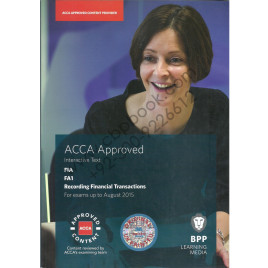 ACCA Fa1 Recording Finance Decision Text Bpp 2014-15