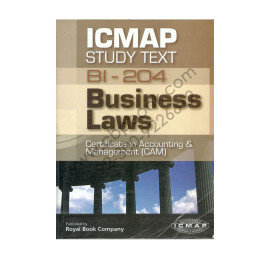 ICMAP Study Text Bl-204 Business Laws Royal Book Company