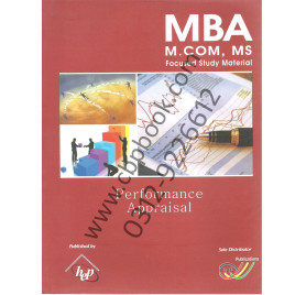 MBA M.COM, MS Focused Study Material Performance Appraisal IBP