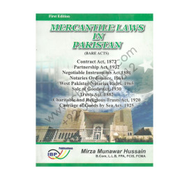 Mercantile Laws in Pakistan (Bare Acts) IBP Publication