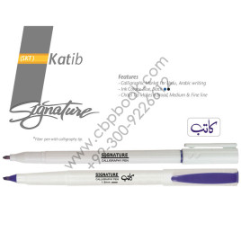 Signature Katib Fiber Pen with Calligraphy Tip