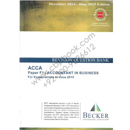 ACCA F1 Revision Question Bank 2014-15 Becker