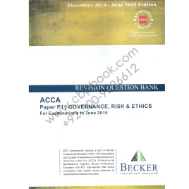 ACCA P1 Revision Question Bank 2014-15 Becker