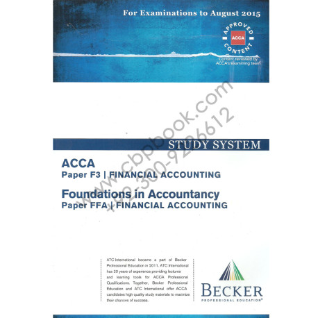 acca f3 financial accounting tuition class Association of chartered certified accountants f3 financial accounting f6 the fee is inclusive of tuition and class notes only.