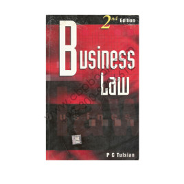 Business Law 2nd Edition PC Tulsian Tata McGraw-Hill