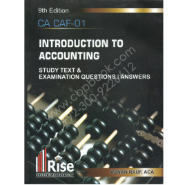 CA Introduction to Accounting 9th Edition Adnan Rauf Rise
