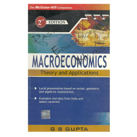 Macroeconomics Theory And Applications G S Gupta McGraw-Hill