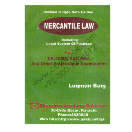 Mercantile Law Including Legal System of Pakistan