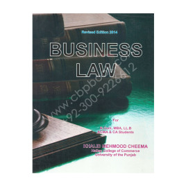Business Law 2014 Edition Khalid Mehmood Cheema