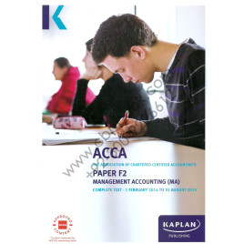 ACCA Paper F2 Management Accounting Complete Text 2014-2015 Kaplan