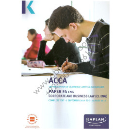 ACCA Paper F4 Eng Corporate and Business Law Complete Text 2015 Kaplan
