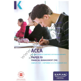 ACCA Paper F9 Financial Management Complete Text 2015 Kaplan
