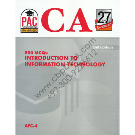 CA 500 MCQs Introduction to Information Technology AFC 4 2nd Edition PAC