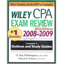 Wiley CPA Exam Review 35th Edition 2008-2009 Volume 1