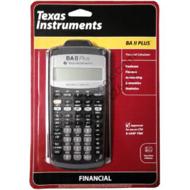 Texas Instruments Financial Calculator BA II Plus Financial